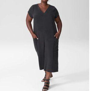 Universal Standard Black Jumpsuit